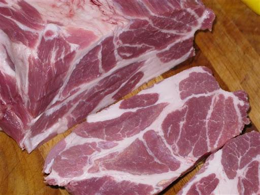 Filet und Nackensteak vom Bunten Bentheimer Schwein