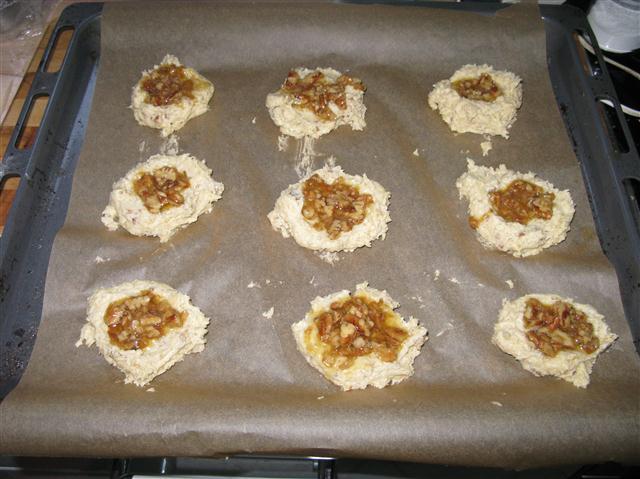 Pecan-Cookies mit Ahornsirup