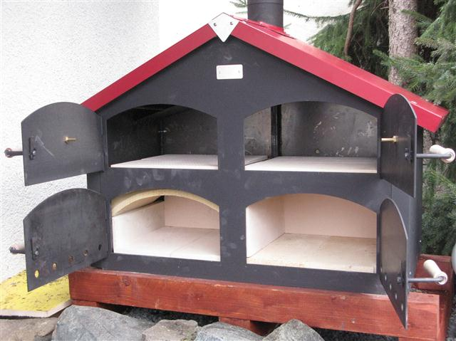 ein neuer holzbackofen von thomas ramster das leben ist. Black Bedroom Furniture Sets. Home Design Ideas