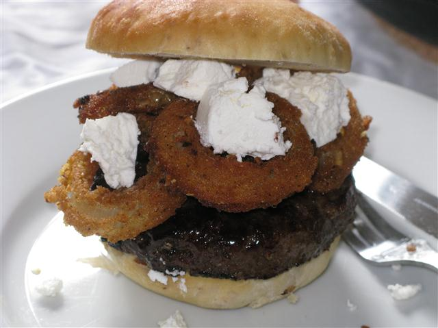 The Orgasmic Onion Burger