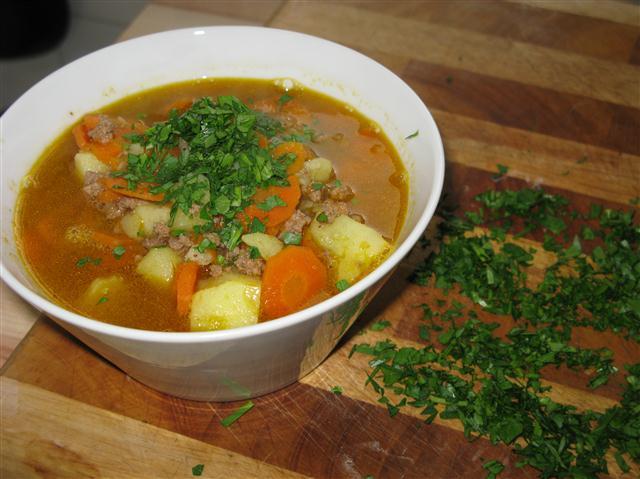 Karotteneintopf