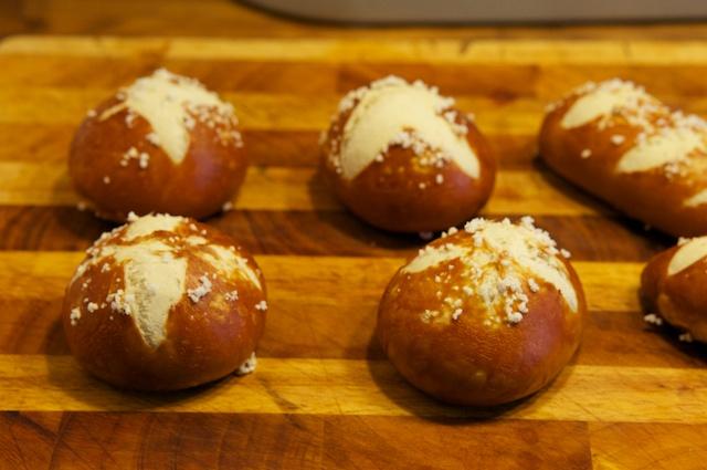 Laugenbrötchen wie vom Bäcker