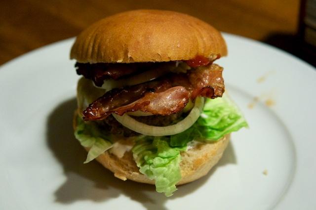 Aussie-Burger mit Känguru