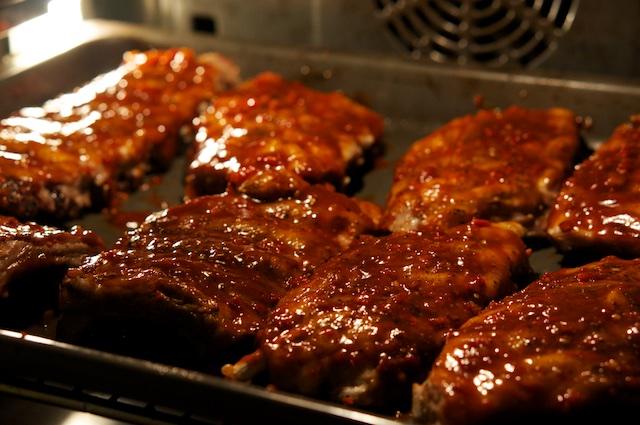 Texanische Spareribs mit BBQ Sauce aus dem Ofen