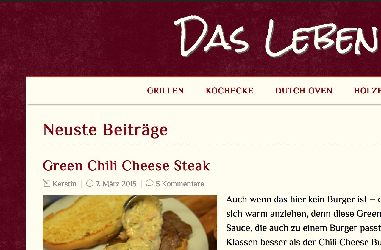In eigener Sache: ein neues Design für Okraschote.de