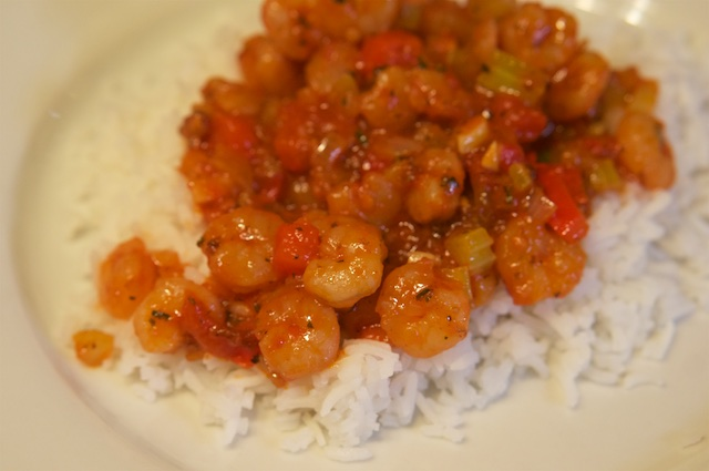 New Orleans Shrimp-Pfanne