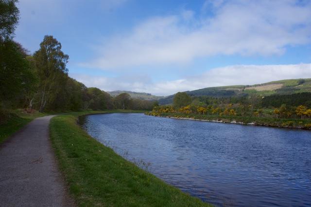 Schottland 2016 – Caledonian Canal