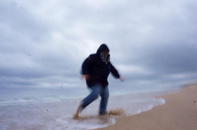 Schottland 2016 - Am Strand von Lossiemouth - Das Leben ist schön